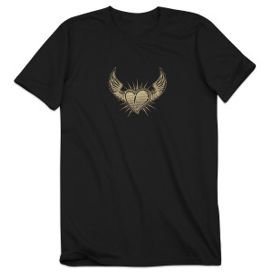 Steve Kimock – Heart and Wings 100% Cotton Tour Shirt