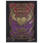 Steve Kimock SIGNED March 2015 Heart and Wings Poster