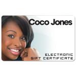 Coco Jones Electronic Gift Certificate