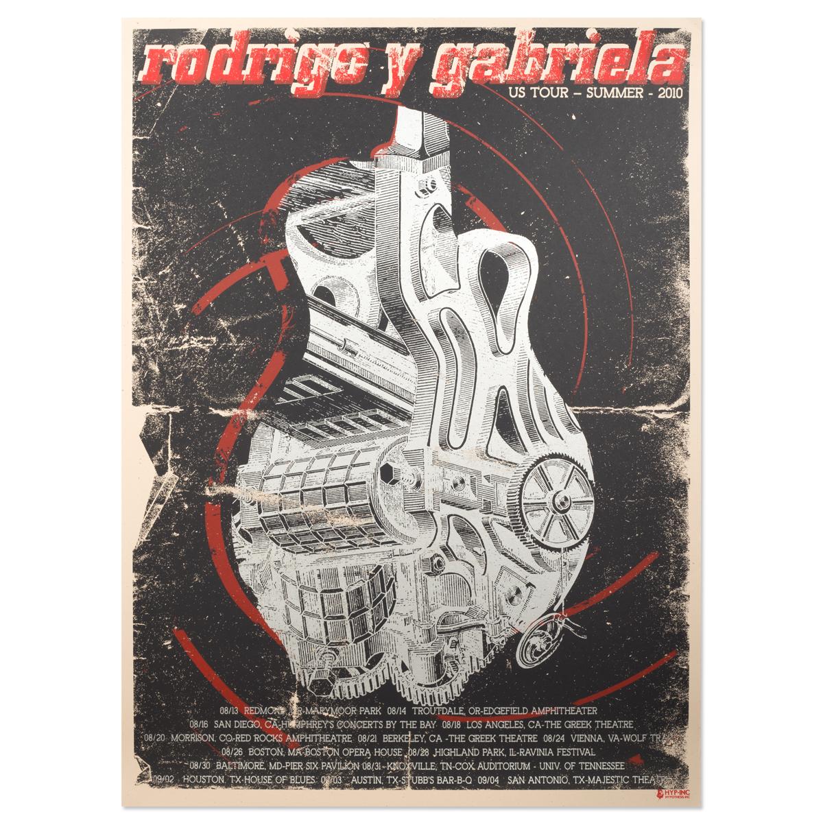 2010 Summer Tour Poster