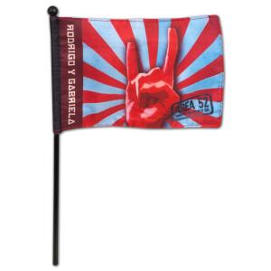 Rodrigo y Gabriela Area 52 Flag