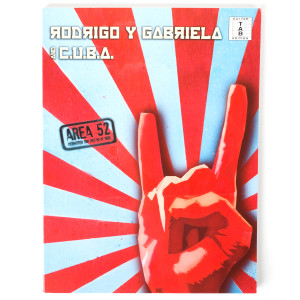 Rodrigo y Gabriela Area 52 Tablature Songbook