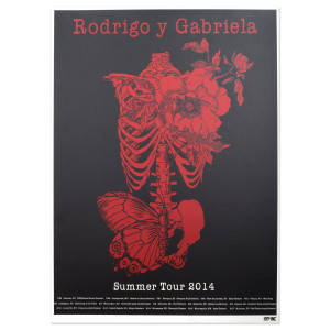 2014 Summer Tour Poster