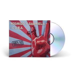 Rodrigo y Gabriela Area 52 SIGNED CD