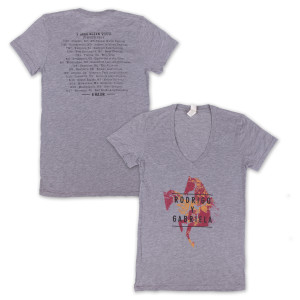 Rodrigo y Gabriela Women's Summer 2014 Tour T-Shirt