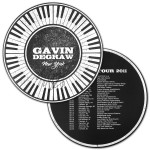 Gavin DeGraw - Signed Round Album Lithograph