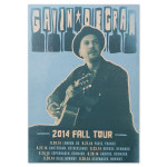 Gavin DeGraw - 2014 Fall Tour Poster