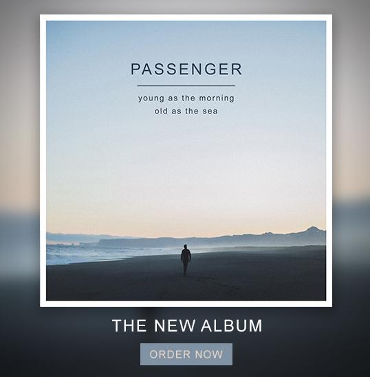 Passenger - New Album!