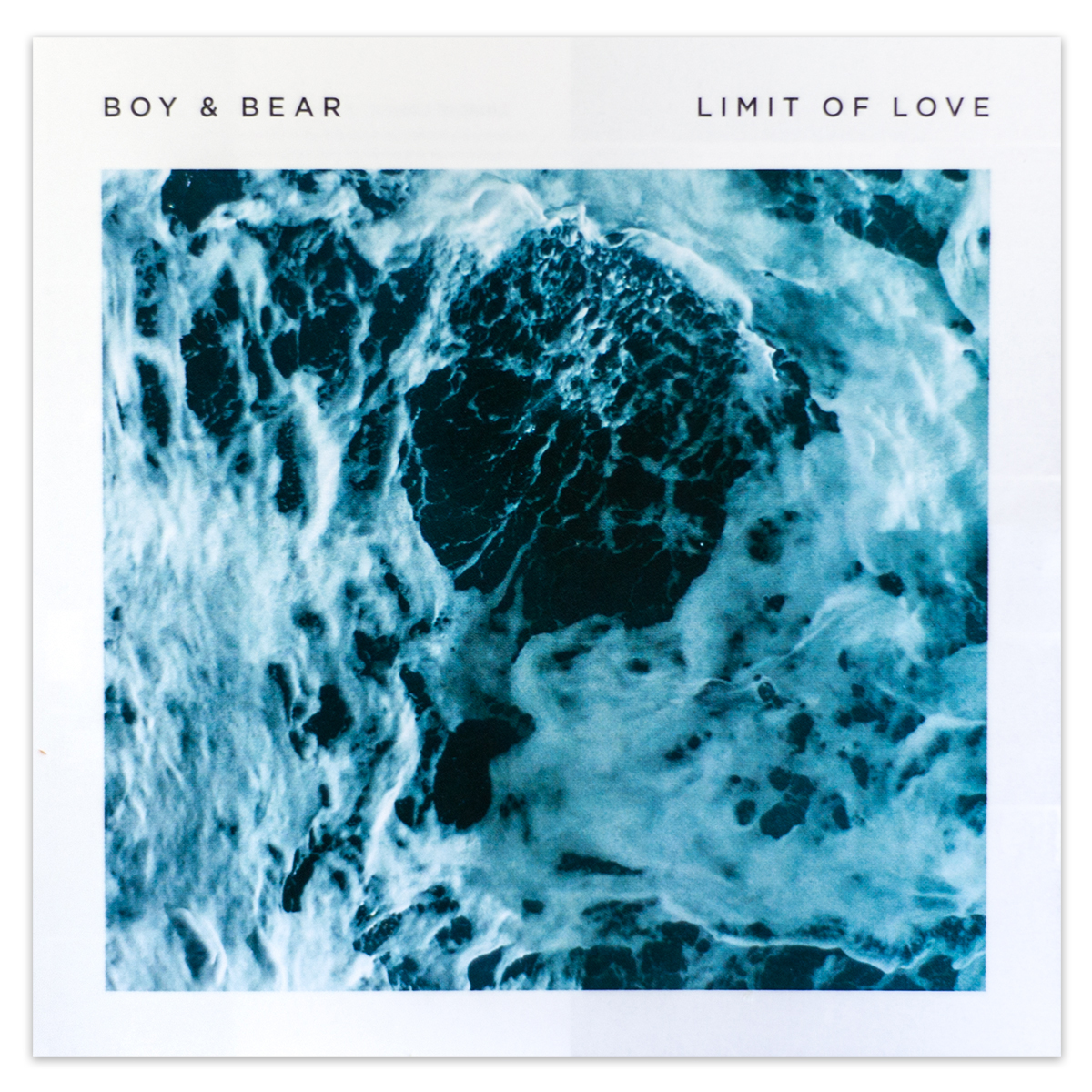 Boy & Bear Limit Of Love CD