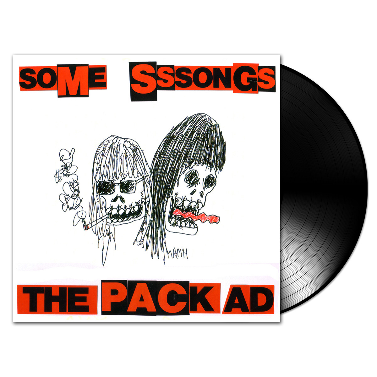 "The Pack A.D. - Some Sssongs Vinyl 10"" EP"