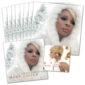 Mary J. Blige 'A Mary Christmas' <span style=&quot;color:#FF0000;&quot;>AUTOGRAPHED</span> Bundle