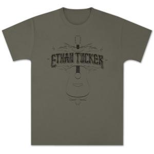 Ethan Tucker Acoustic Unisex T-Shirt - Army Green