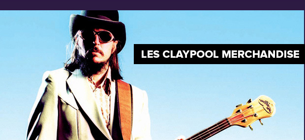 Les Claypool Merch