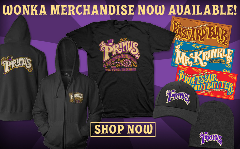 NEW Wonka Merch!