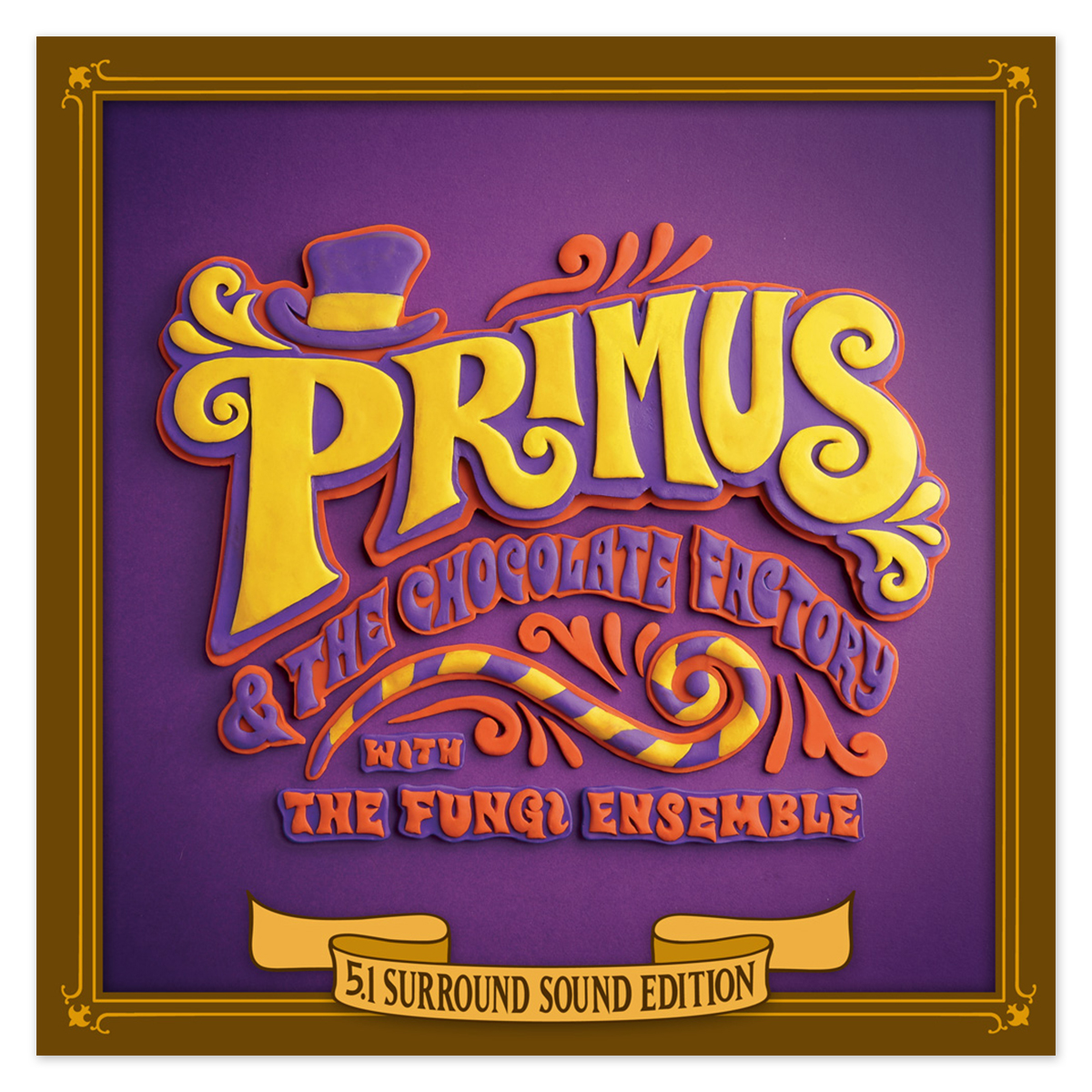 Primus and the Chocolate Factory 5.1 Surround Sound Edition CD