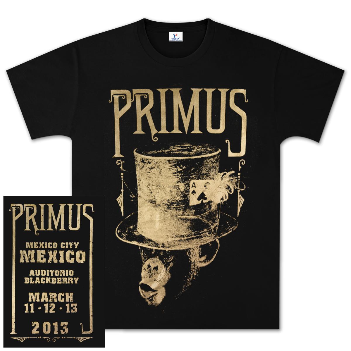 Primus  Tour Merchandise