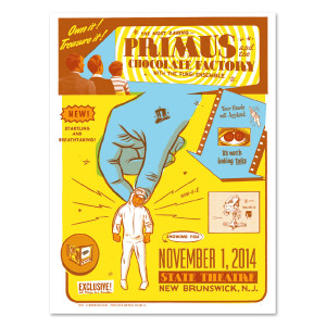 Primus 11/1/14 New Brunswick, NJ - Morning Breath