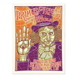 Primus 4/15/2015 Nashville, Tennessee - Reuben Rude