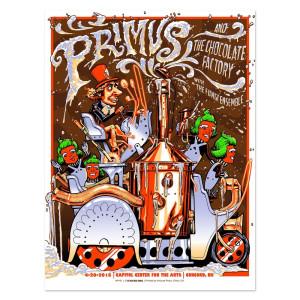 Primus 4/20/2015 Concord, New Hampshire - Munk One