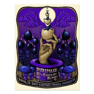 Primus 4/21/2015 Syracuse, New York - Mishhka Westell