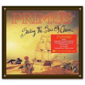 Sailing the Seas of Cheese Deluxe Edtion CD/BLU-RAY