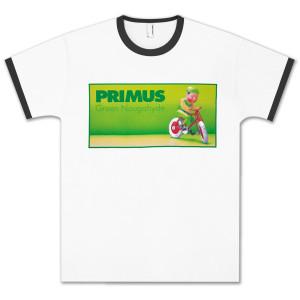 Primus Green Naugahyde Unisex Ringer T-shirt