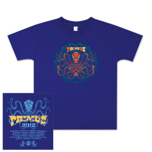 PRIMUS 2012 Ladies Ornate Tour T-shirt