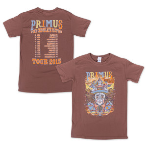 Primus & The Chocolate Factory 2015 Tour T-Shirt