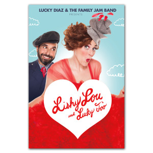 Autographed Lishy Lou and Lucky Too Poster