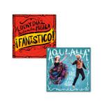 Lucky Diaz - Aqui, Alla and Fantastico CDs