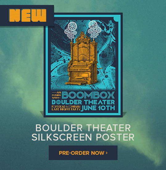 Pre-Order the New Boulder Theater Silkscreen Poster!