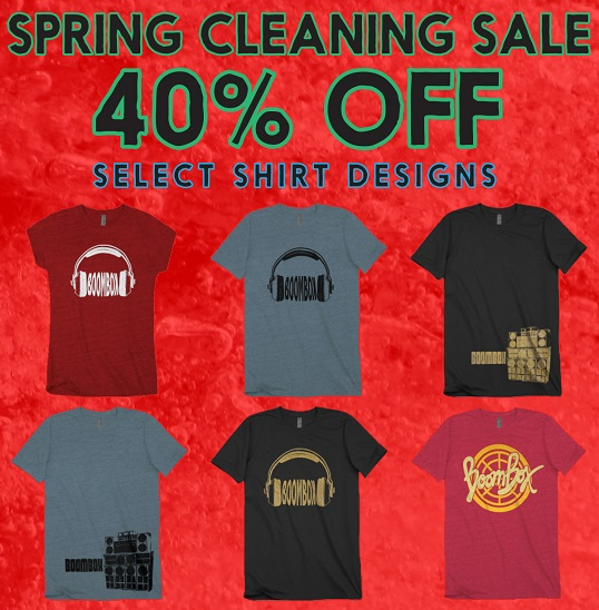 40% Off Select Shirts!