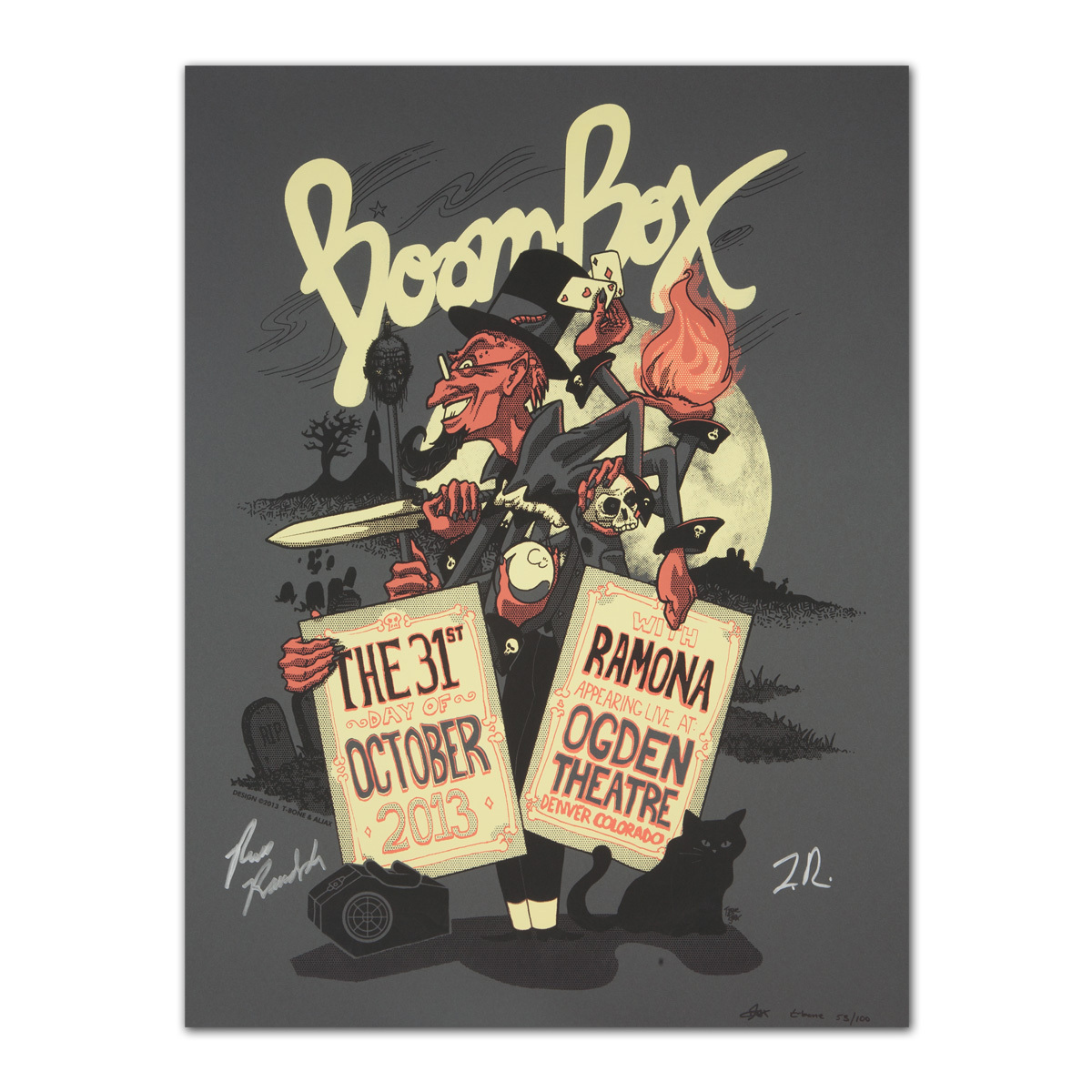 BoomBox Ogden Theatre Poster