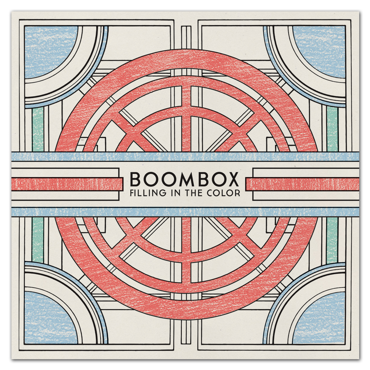 BoomBox 'Filling in the Color' - CD