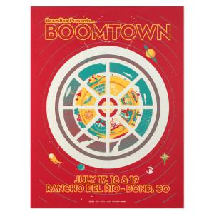 Boombox Boomtown Poster Ranco Del Rio