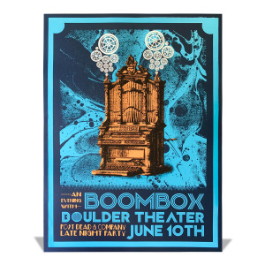 Boulder Theater Silkscreen Poster