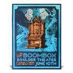 Boulder Theater Silkscreen Poster