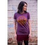 Dirty Red Penny Ladies T-Shirt