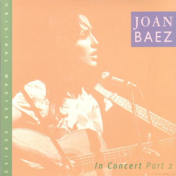 Joan Baez - In Concert Part II CD | Shop the Vanguard
