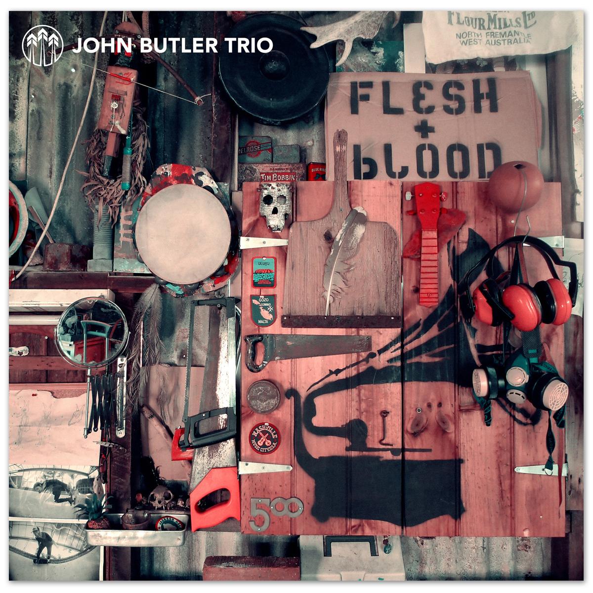 John Butler Trio - Flesh & Blood CD