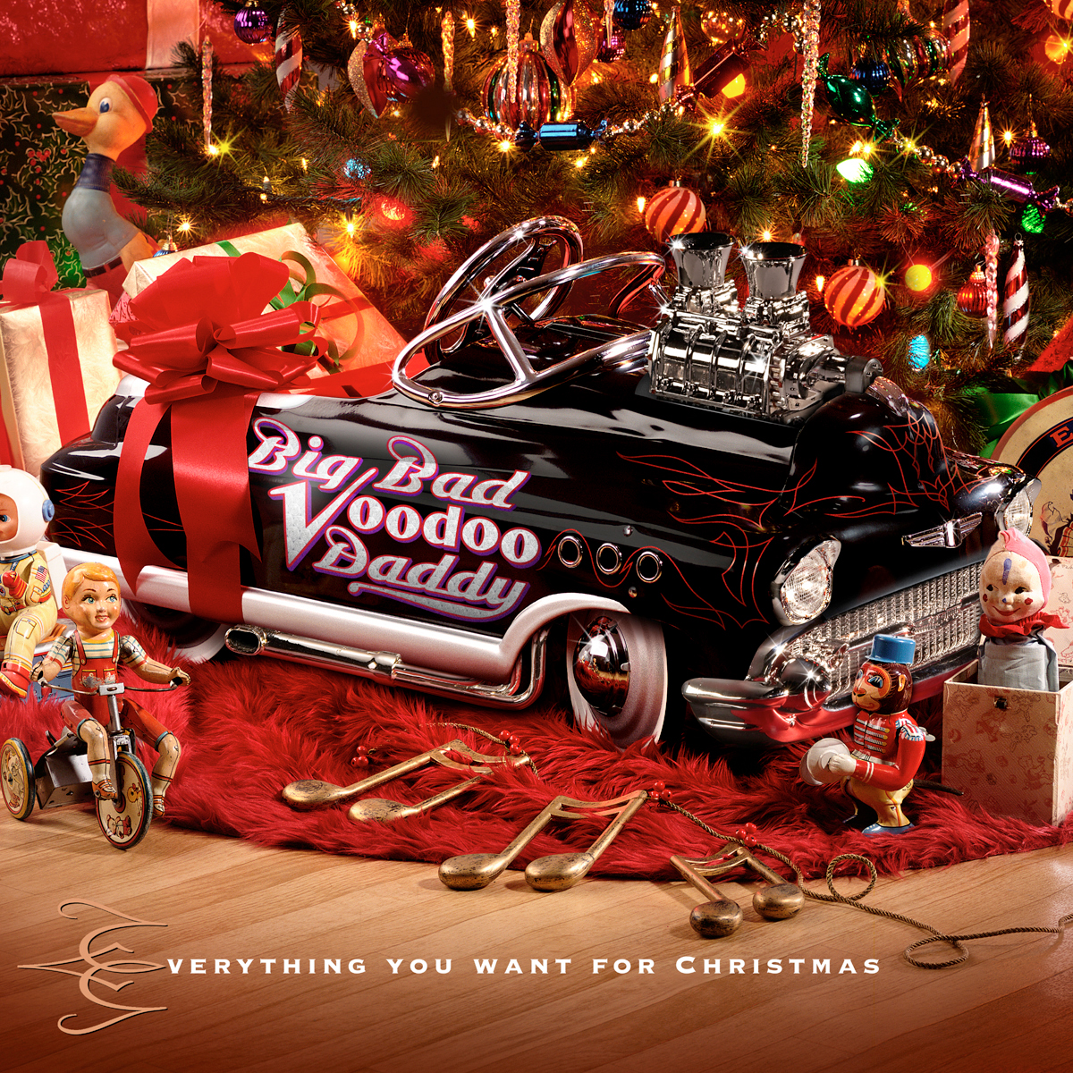 Big Bad Voodoo Daddy - Everything You Want For Christmas CD