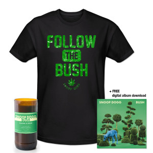 Exclusive BUSH CD + Shirt + Candle Bundle w/ FREE Download