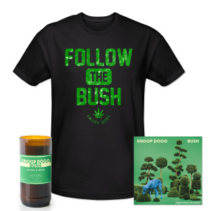 Exclusive BUSH Album Download + Shirt + Candle Bundle