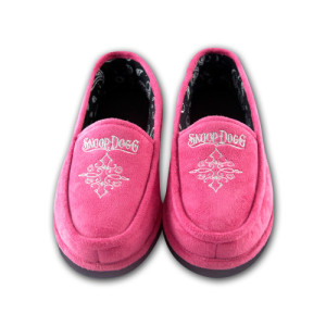 Snoop Dogg Women's Pink House Shoes