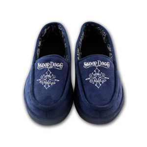 Snoop Dogg Women's Navy House Shoes