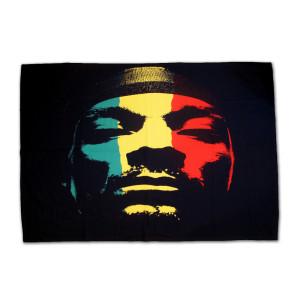 Snoop Dogg Rasta Throw Blanket