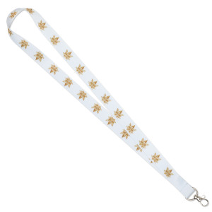 Leafs By Snoop White Lanyard