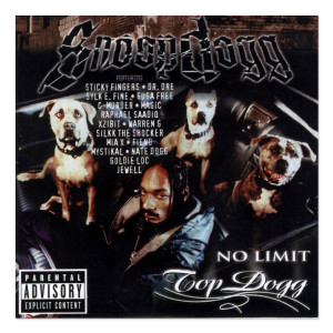 Snoop Dogg No Limit Top Dogg CD