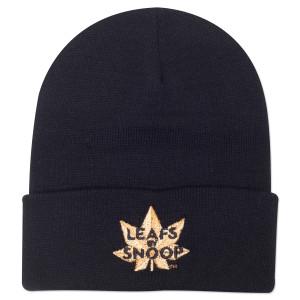 Leafs By Snoop Black Beanie