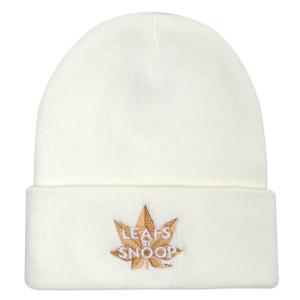 Leafs By Snoop White Beanie